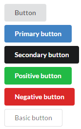 Semantic UI default buttons theme