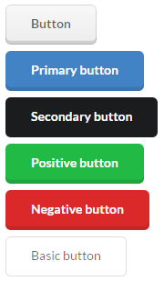 Semantic UI Raised buttons theme