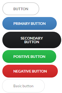 Semantic UI Round buttons theme