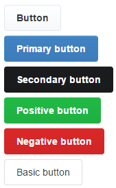 Semantic UI Twitter buttons theme