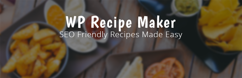 WP Recipe Maker plugin banner